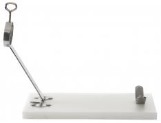 Support à jambon pliable base en polyéthylène Steelblade